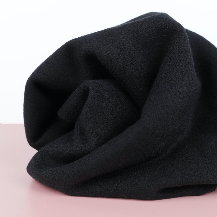 Black Merino Boucle SQ