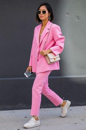 Both pink