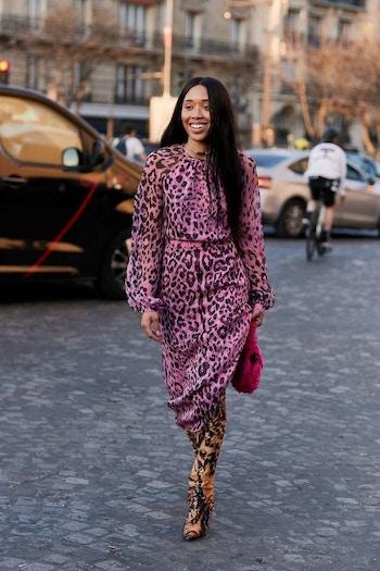 AUS leopard print