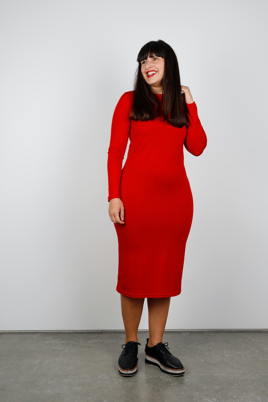 Poppy nikko dress side