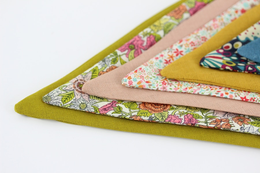 Scrap DIY Bunting By The Fabric Store