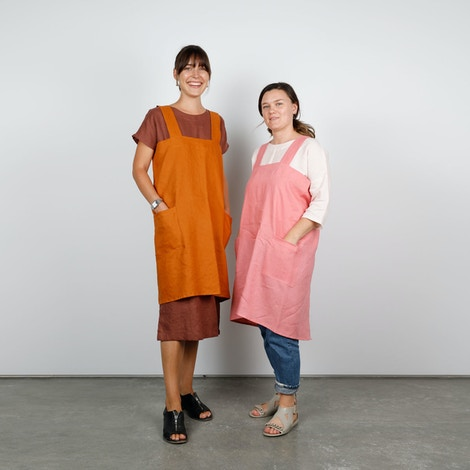 2 japanese aprons the fabric store linen