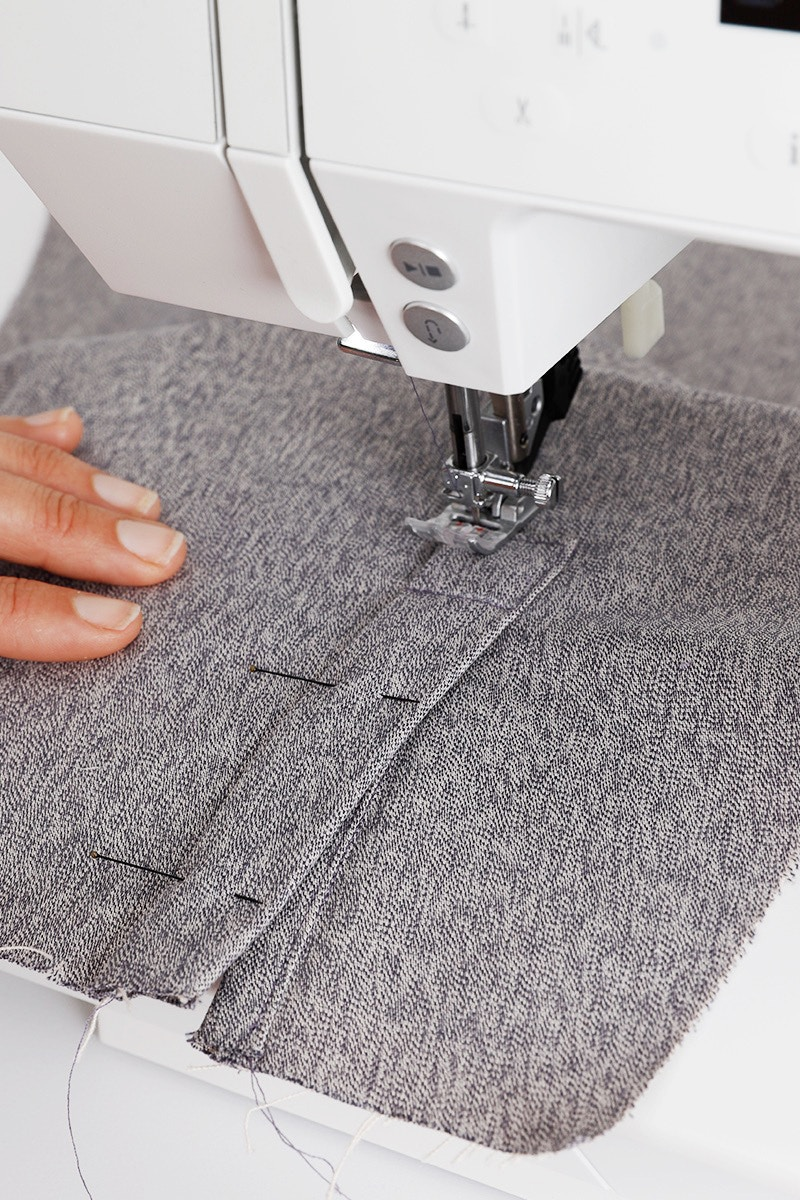 20 Turn again and Continue to sew square