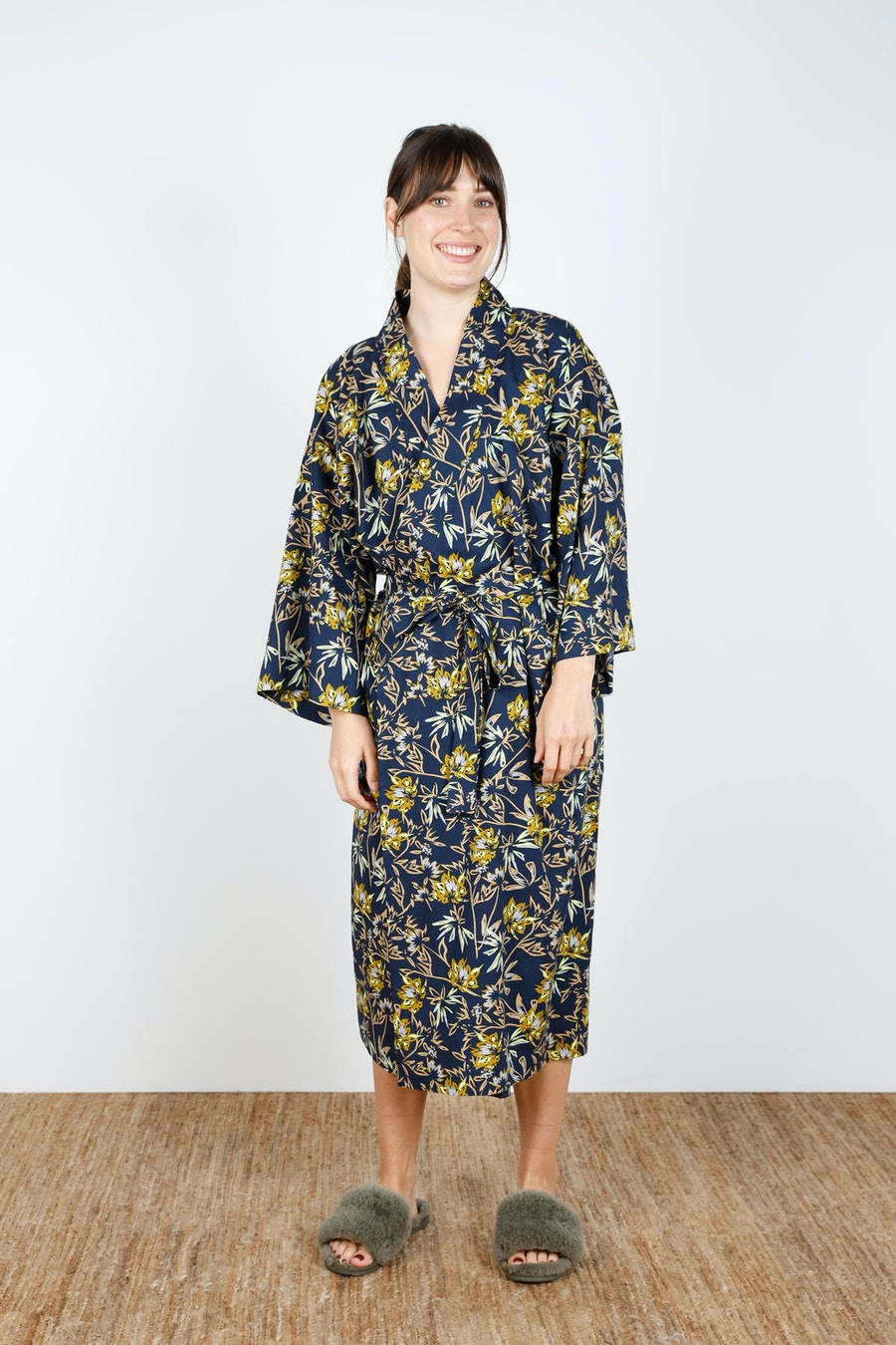 Front Tied Long Lucie Robe Make by TFS