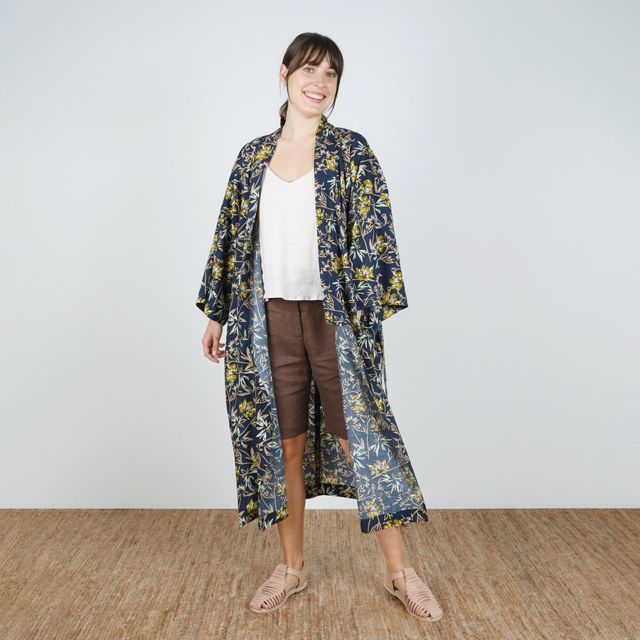 SQ Front Untied Long Lucie Robe Make by TFS