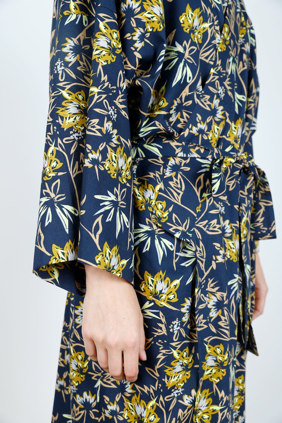 Side Tie Long Lucie Robe Make by TFS