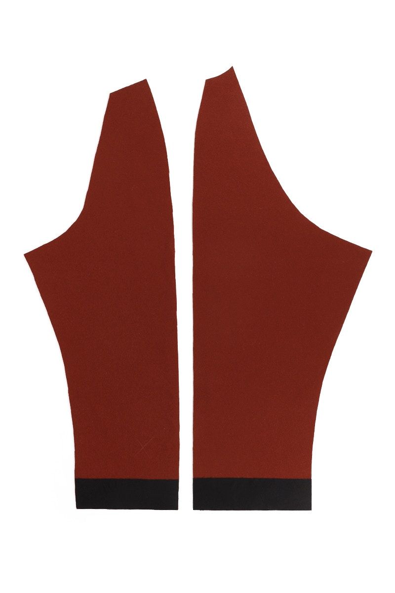 6 Sleeve Front and Back Fused