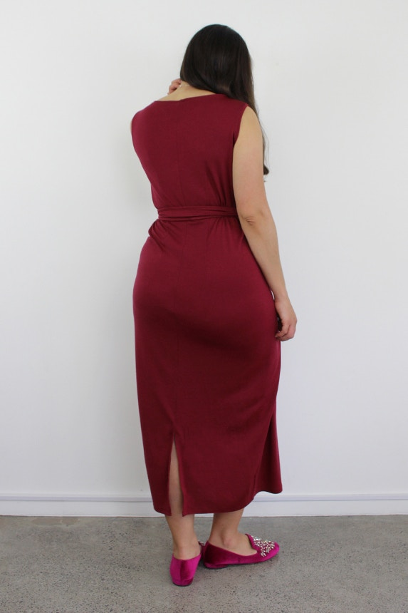 B kielo wrap dress named double two fabric by the fabric store