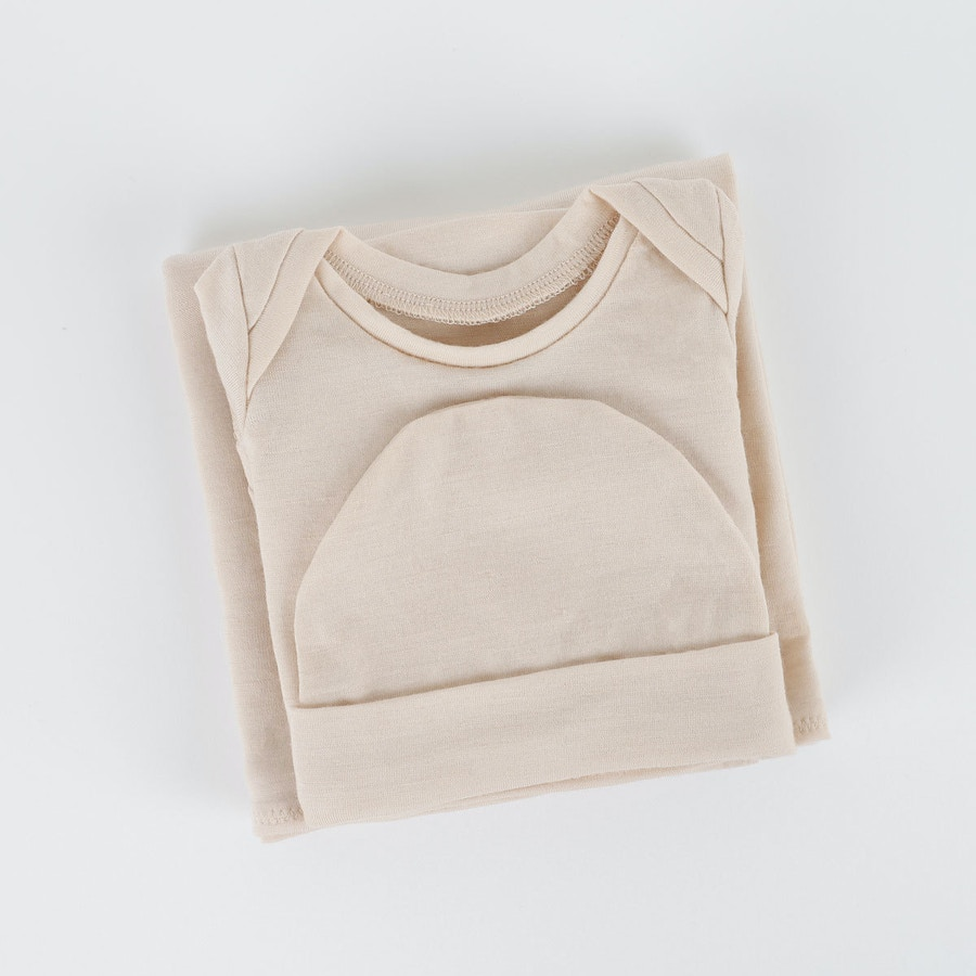 New baby essentials vanilla zq merino by the fabric store