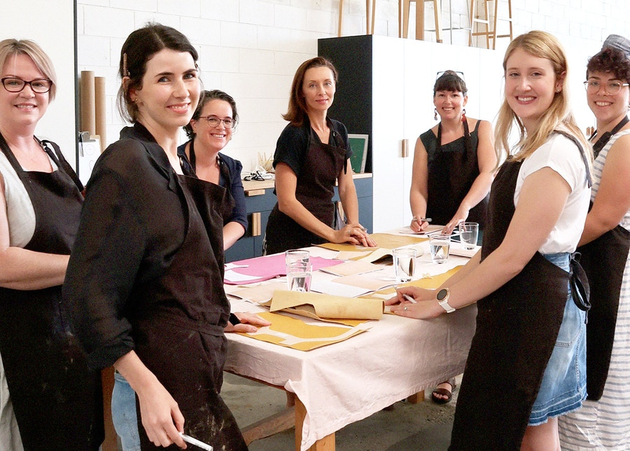 Group The Shoe Camaraderie Workshop The Fabric Store Leather